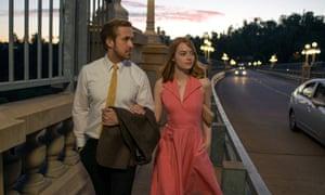 Land of dreams: Ryan Gosling, Emma Stone and LA itself take centre stage in La La Land.