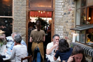 Guests at the Worldreader charity dinner at Campania & Jones in East London