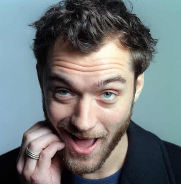 Jude Law, photographed by Eamonn McCabe