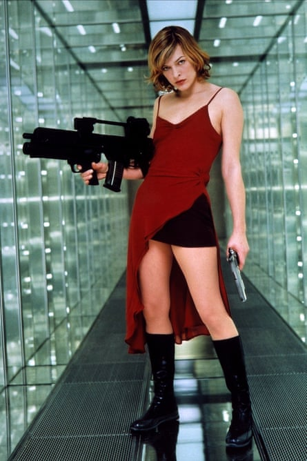 Transplants the outrageous melodrama of the games into an entirely new character … Resident Evil, 2002.
