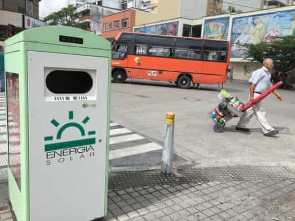 The Clean Cube smart bin