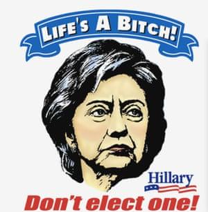 Another anti-Hillary shirt.
