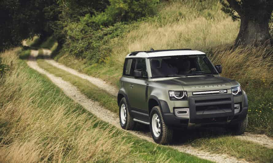 The new Land Rover Defender takes to the fields