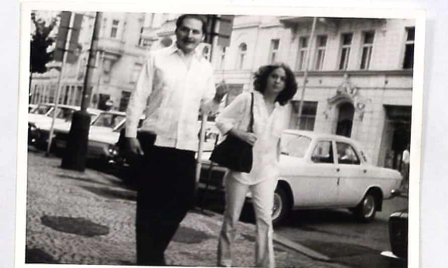 Carlos the Jackal pictured with his German girlfriend Magdalena Kopp, who went on to become his wife.