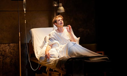 Andrew Garfield in Angels in America.