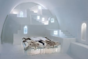 White Santorini suite (pictured) by architects Haemee Han and Jaeyual Lee