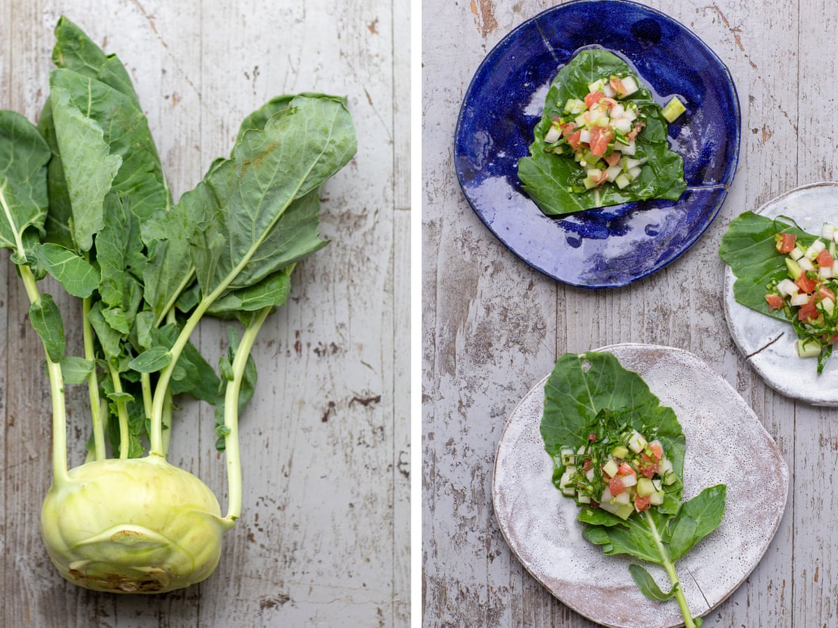 Kohlrabi Eat More Than Just The Bulb Food The Guardian