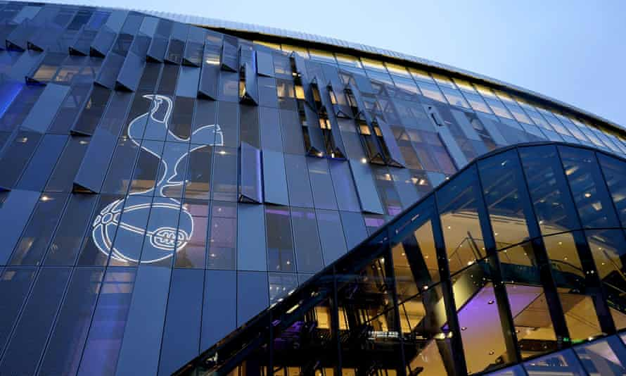 The Spurs chairman, Daniel Levy, said he hopes 'the work our supporters will see us doing in the coming weeks, as our stadium takes on a whole new purpose, will make them proud of their club'.