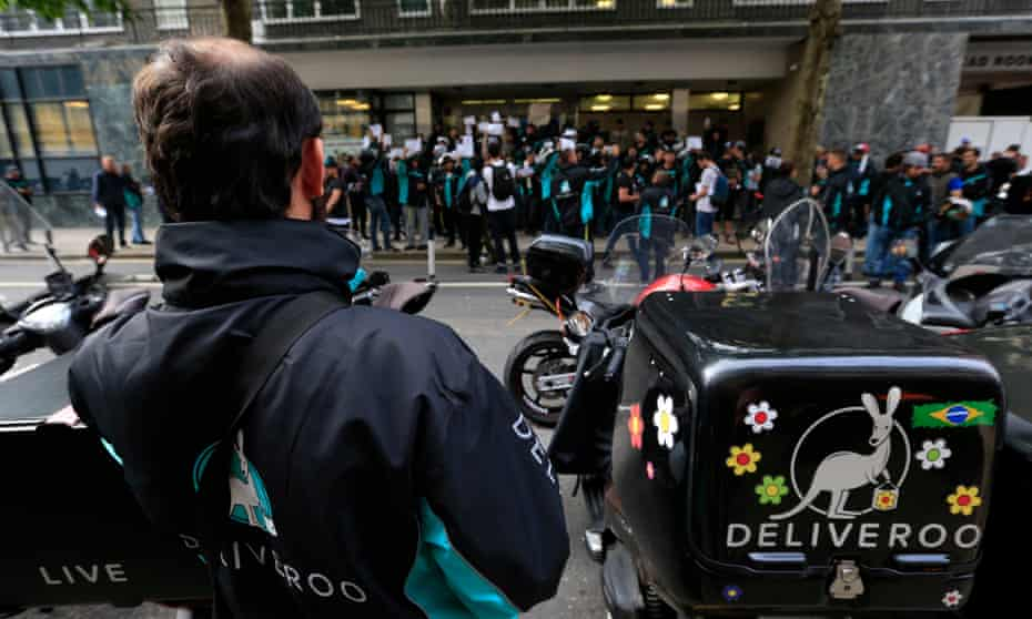 Deliveroo protest