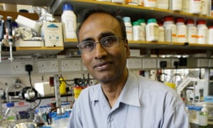 The winner of the Nobel prize for chemistry Venkatraman Ramakrishnan is at No 4.
