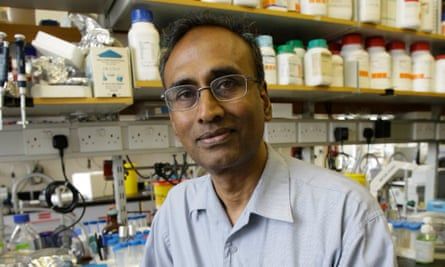 The winner of the Nobel prize for chemistry Venkatraman Ramakrishnan is at No 4.