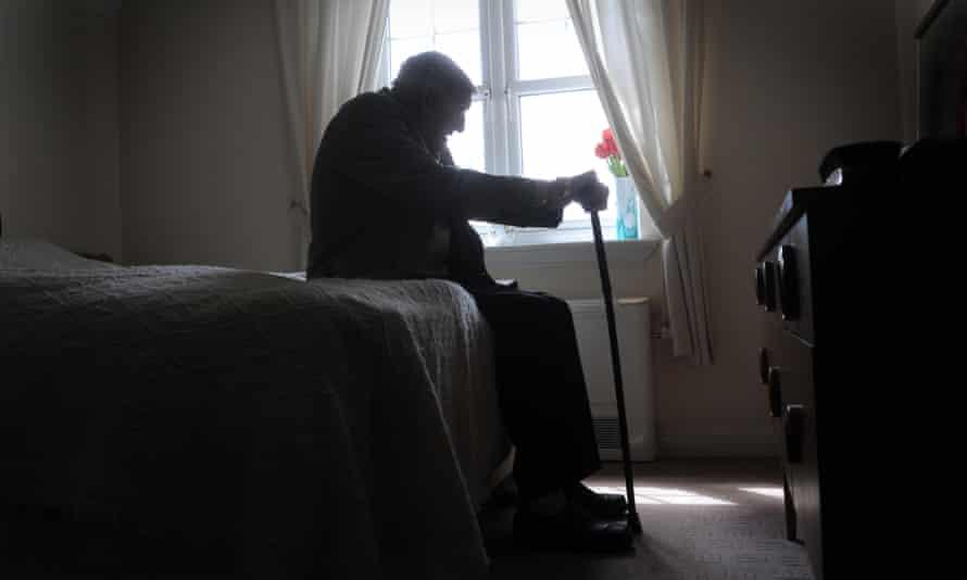 Elderly man.
