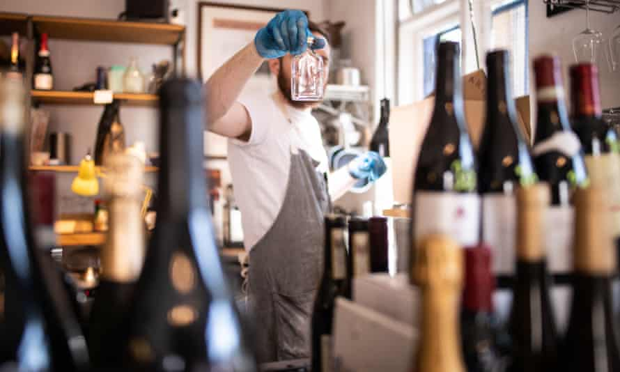 Lockdown has caused many wine retailers to go online and offer tastings on social media.