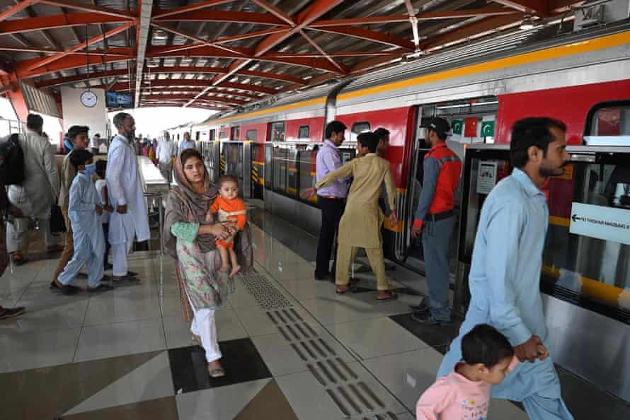 The Orange Line metro