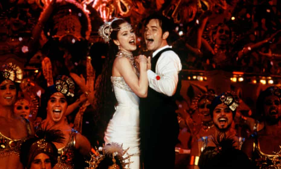 Nicole Kidman and Ewan McGregor in Moulin Rouge, a film that has hardly dated at all, having been so determinedly out of time in the first place.