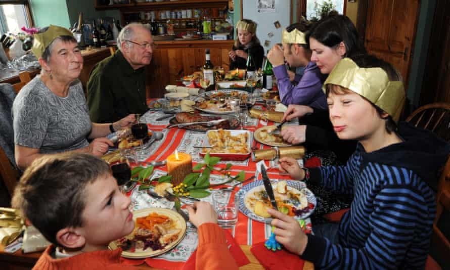 family christmas meal