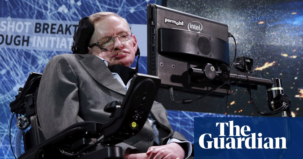 Stephen Hawking's office and archive gifted to UK to settle tax bill
