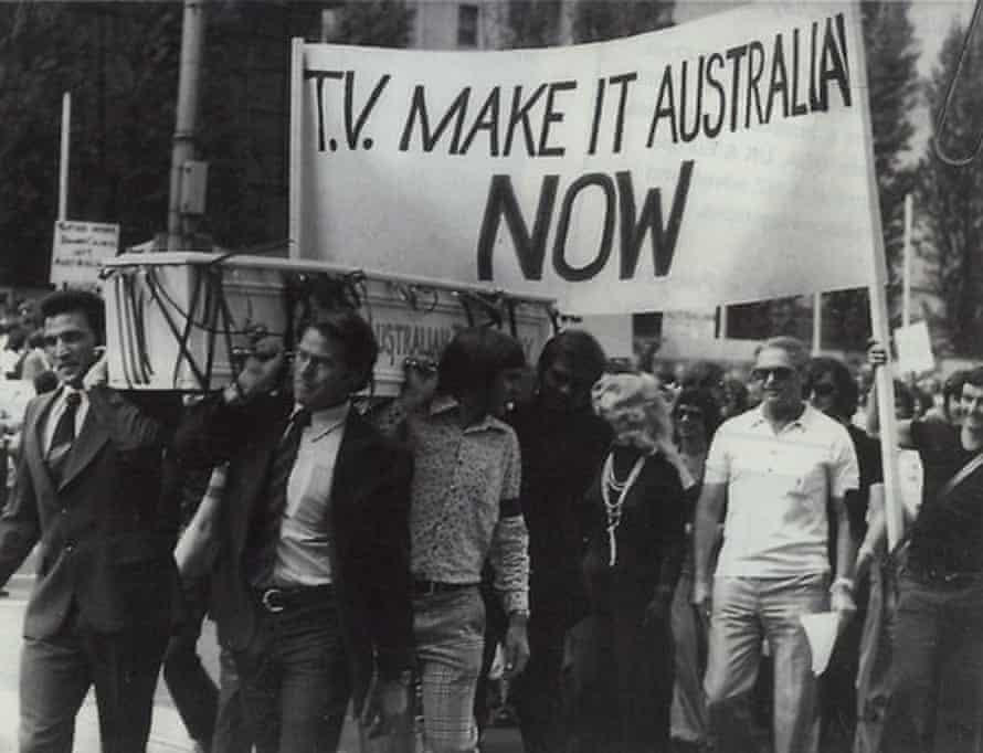 The 1970 Make it Australian protest in Melbourne