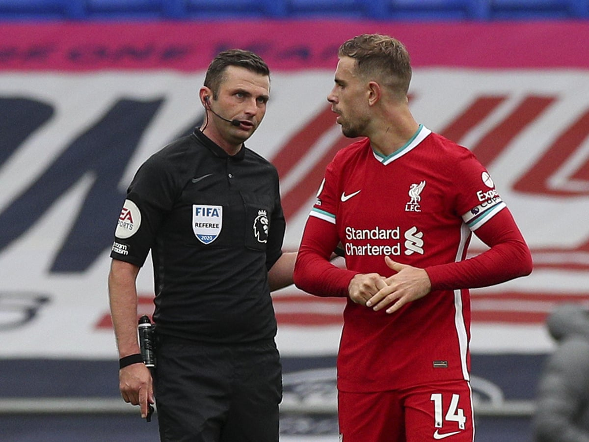 Liverpool Ask Premier League To Review Var Decisions In Draw At Everton Football The Guardian