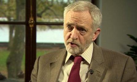 Jeremy Corbyn interviewed by Laura Kuenssberg in November 2015