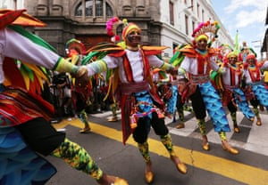 Best foot forward: the annual event has been on Unesco's list of intangible cultural heritage since 2009