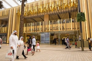 A Harvey Nichols store in The Avenues mall, Kuwait's largest shopping centre.