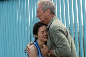 Bryan Brown as Terry Friedman and Jenny Wu as Lan