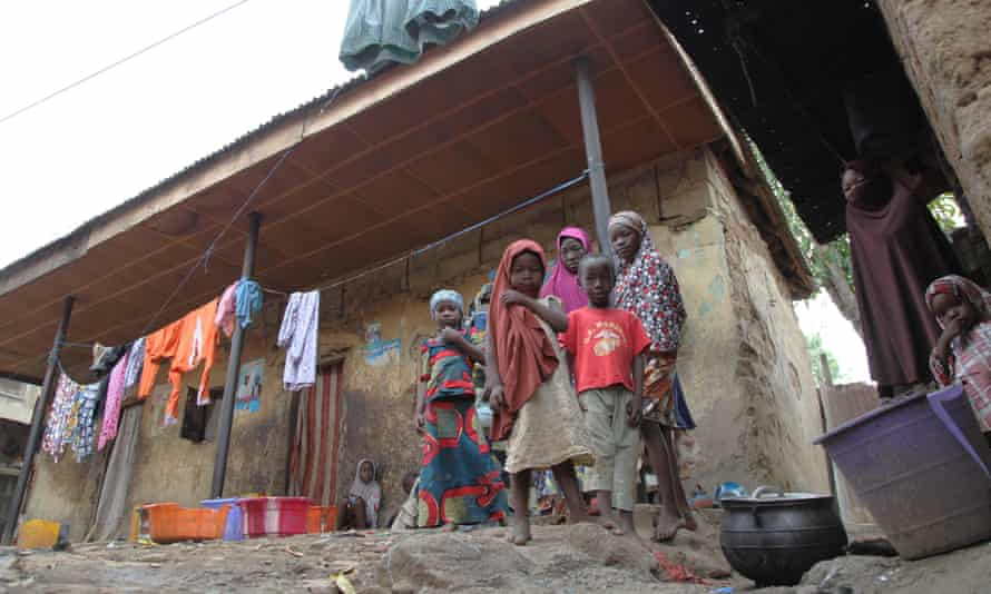Family in Nigeria