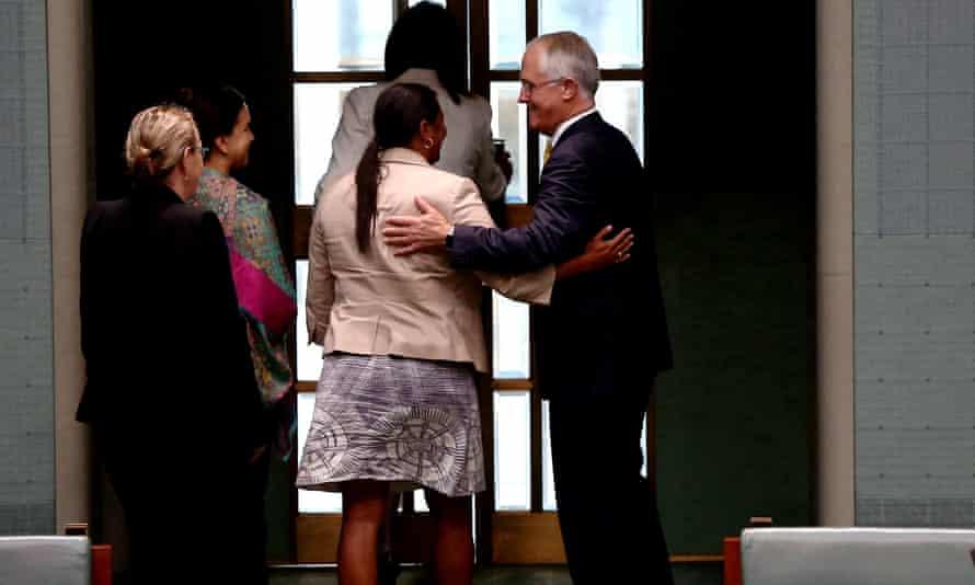 Malcolm Turnbull and Nova Peris