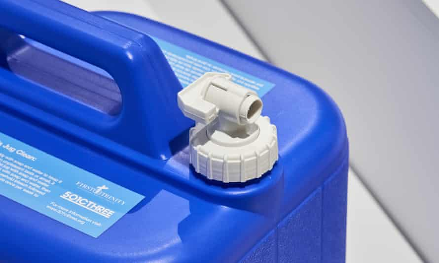 The Water Box mobile filtration system.