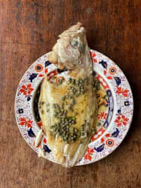 Marcus Wareing's sole meunier: cook in oil first, then clean the pan.