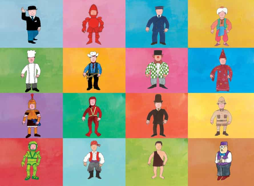 'I wanted him to be Mr Everybody' … Mr Benn in his many disguises.