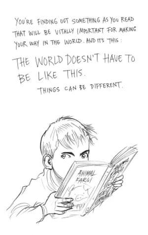 Page six of Neil Gaiman and Chris Riddell's book Art Matters. ART MATTERS by Neil Gaiman, illustrated by Chris Riddell is published by Headline on 6th September
