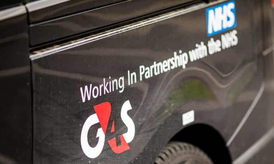 A G4S van