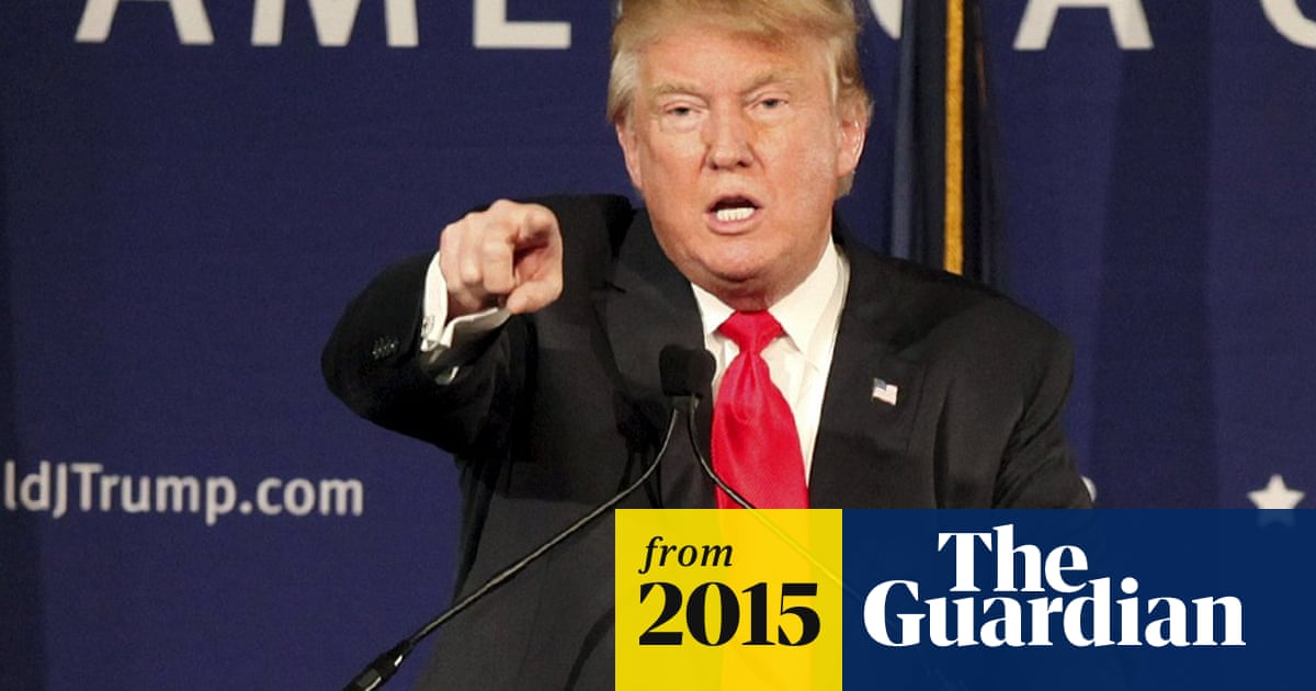 Donald Trump: ban all Muslims entering US | US news | The