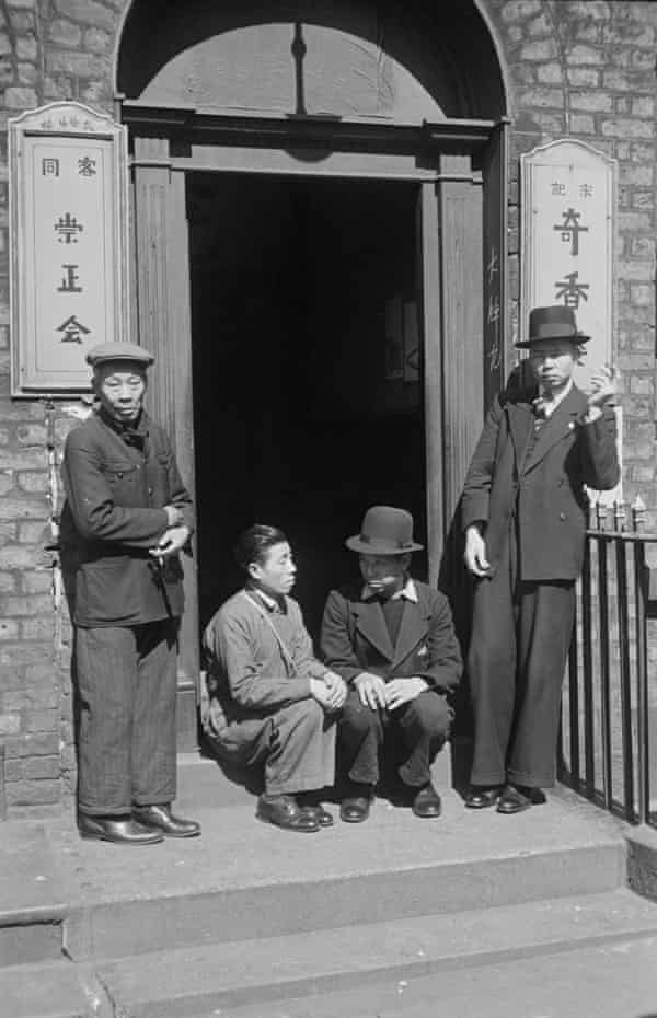 Chinese seamen in Liverpool in 1942.