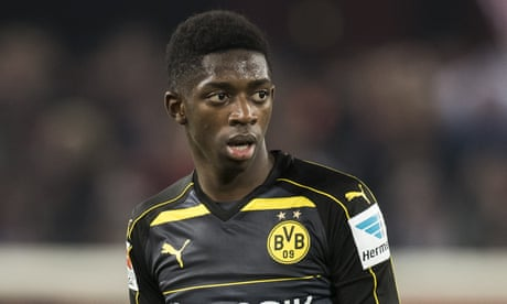 Barcelona close to Dembélé deal after agreeing €150m fee with Dortmund