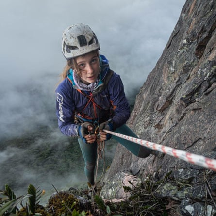 Anna Taylor climbs Mount Roraima from the Guyanese side