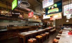 East Street Restaurant, Rathbone Place, London