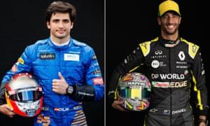 Carlos Sainz will replace Sebastian Vettel at Ferrari in 2021, with Daniel Riccardo taking his McLaren seat.