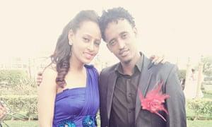 Medhanie Berhe and his sister Seghen