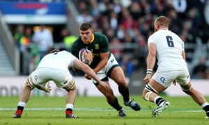South Africa's Malcolm Marx failed to make the most of his opportunities against England.