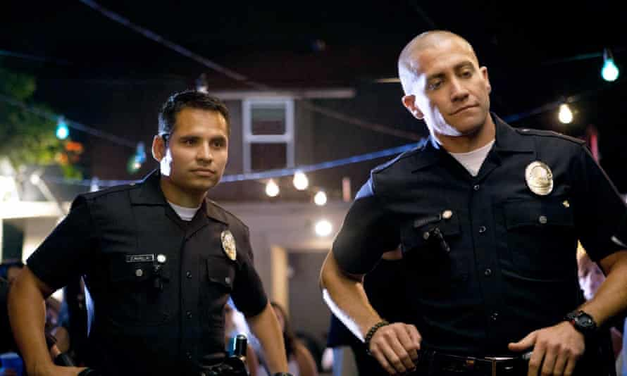Peña with Jake Gyllenhall in End of Watch.