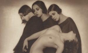 Rudolf Koppitz (1884-1936) Movement Study 1926 Carbon print