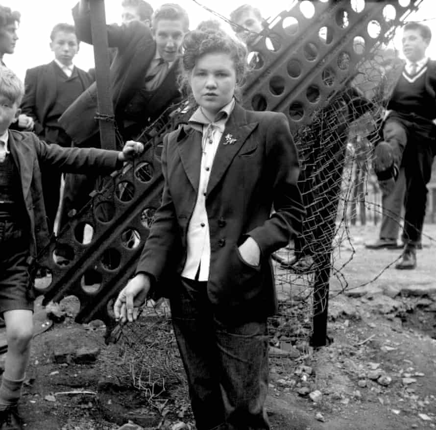 Ted Burton and other teddy boys and girls