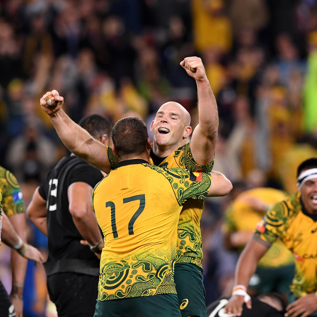 Reece Hodge Inspires Australia To Tense Bledisloe Cup Win Over New Zealand Bledisloe Cup The Guardian