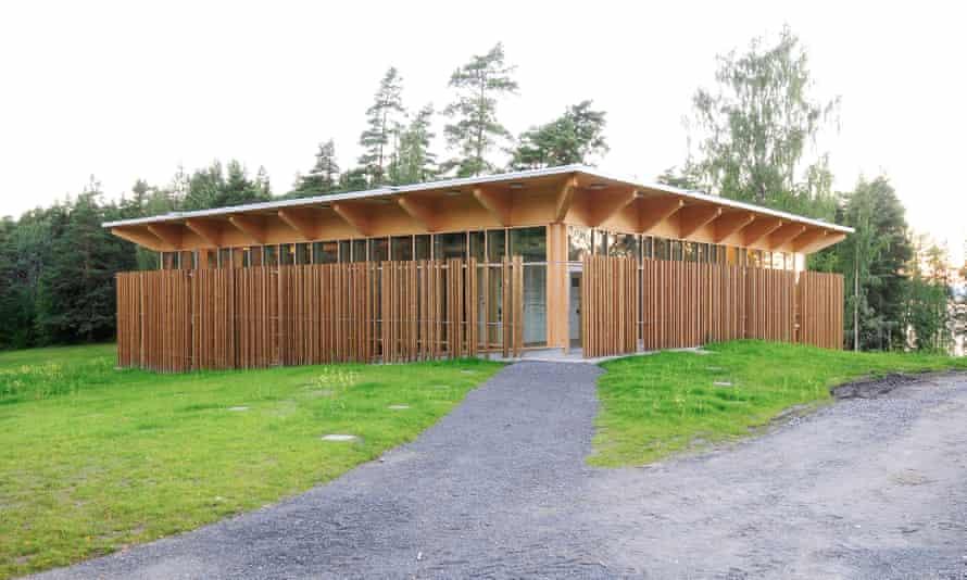 The memorial and learning centre, Utøya, Norway, scene of Anders Breivik's 2011 atrocity.