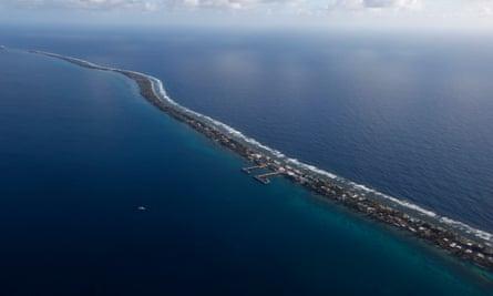 Funafuti, the main island of Tuvalu
