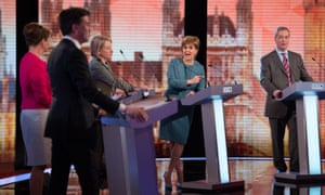One of the TV debates held before the 2015 general election