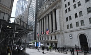 The New York Stock Exchange (NYSE) on Wall Street.